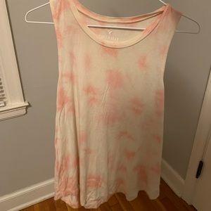 AE | Pastel Tie Dye Soft & Sexy Yellow Orange Tank